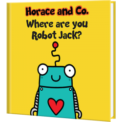 Flossy and Jim Where are you Robot Personalized Children's Book