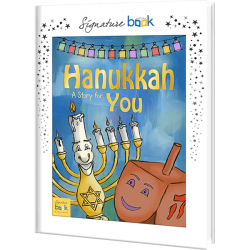 Personalized Hanukkah Children's Book