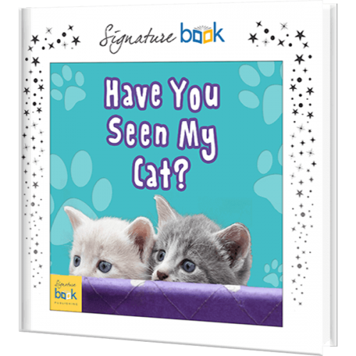 Have You Seen My Cat Personalized Book
