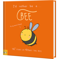 I'd Rather Be A Bee Personalized Book