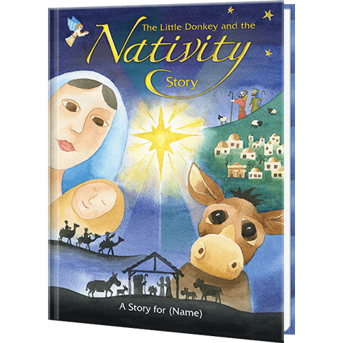 Personalized Nativity Story Book for Kids