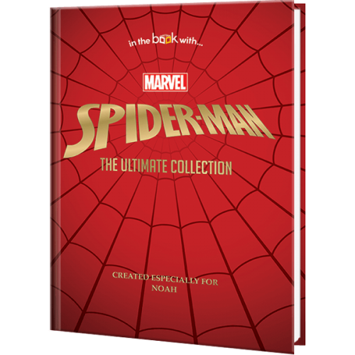 Marvel Spider-Man Ultimate Collection Personalized Book
