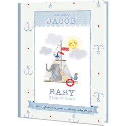 Personalized Milly & Flynn Baby Book