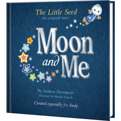 Moon and Me Personalized Book