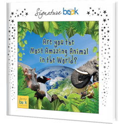 Most Amazing Animal Personalized Book