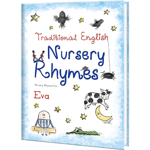 My Book of Nursery Rhymes Personalized Book