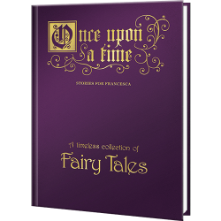 Personalized Once Upon a Time Collection of Fairy Tales Book
