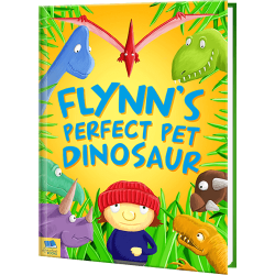Perfect Pet Dinosaur personalized book
