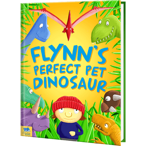 Personalized Perfect Pet Dinosaur Book