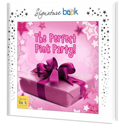 Perfect Pink Party Personalized Children's Book