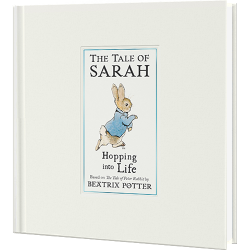 Personalized Peter Rabbit Hopping into Life Book