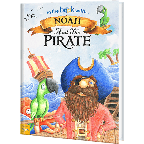 Personalized Pirate Story Book