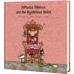 Princess and the Mysterious Noise Personalized Book