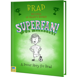 Personalized Soccer Superfan Children's Book