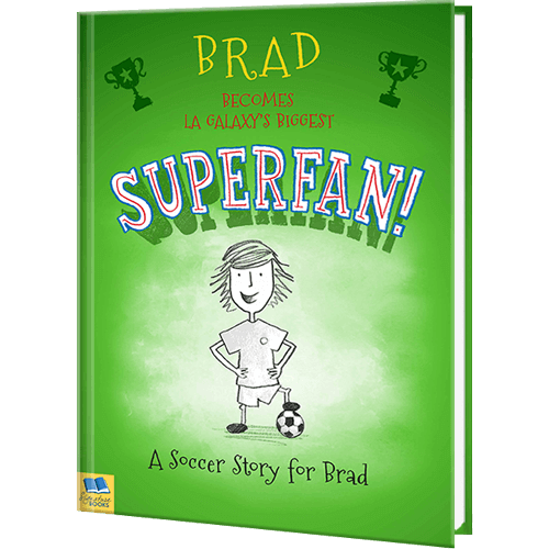 Soccer Superfan Personalized Book