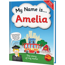 The Story of My Name Personalized Book