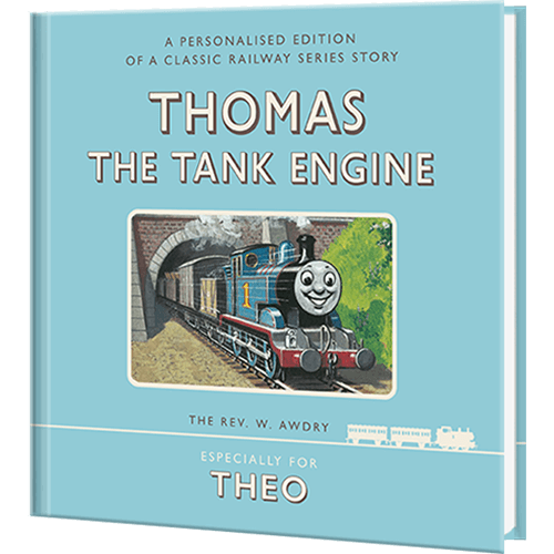 Little Ones Love To Enjoy A Personalized Thomas The Train Book!