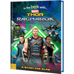 Marvel Thor Ragnarok Personalized Superhero Book