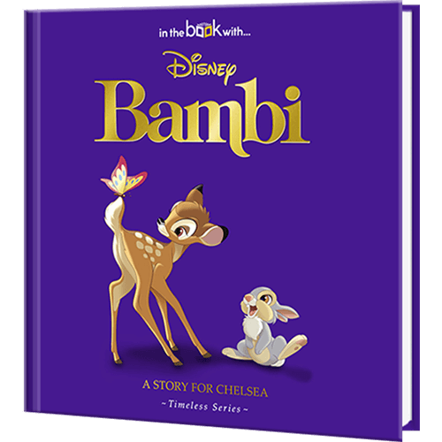 Personalized Disney's Bambi Story Book