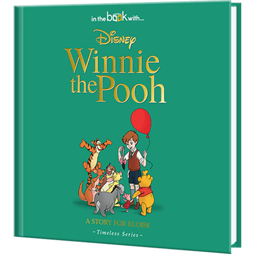 Personalized Disney's Winnie the Pooh Story Book