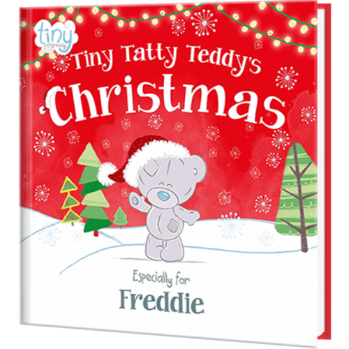 Personalized Children's Tiny Tatty Teddy's Christmas