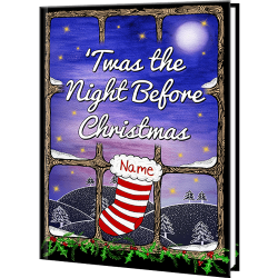Personalized 'Twas the Night Before Christmas Book. '