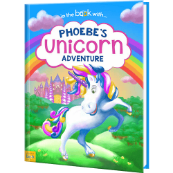 Personalized Unicorn Adventure Story Book