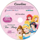 Personalized Disney Princess Tea Party Music CD