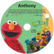 Personalized Elmo and Friends Music CD