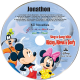 Personalized Sing a Long with Mickey Minnie and Goofy Music CD