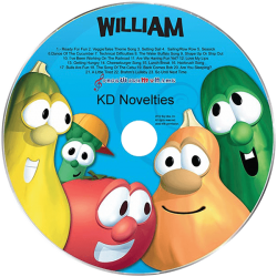 VeggieTales Silly Songs Personalized Music CD