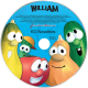 Personalized VeggieTales Silly Songs Music CD