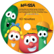 Personalized VeggieTales Sing-A-Long Music CD