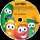 Personalized VeggieTales Sing-A-Long Music CD
