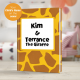 Terrance the Giraffe Personalized Children's Book