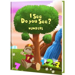 I See Do You See - Personalized Numbers Book