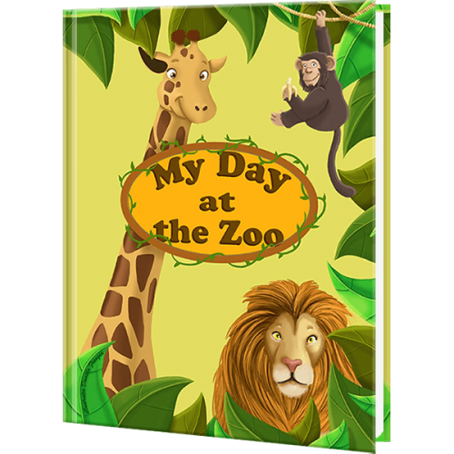 My Day at the Zoo - Personalized Kid's Book