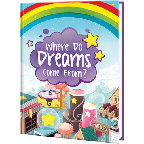 Personalized Where Do Dreams Come From Book