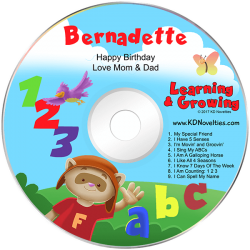 Personalized Children's Music CDs | KD Novelties