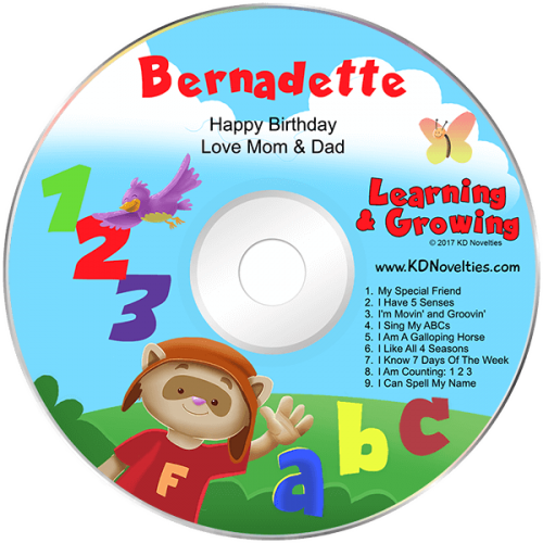 Personalized Learning and Growing Music CD