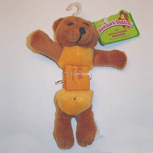 Bookmark Buddies - MaBarley Brown Bear