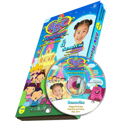 ABC Monsters - Single Episode Personalized Kid's Photo DVD