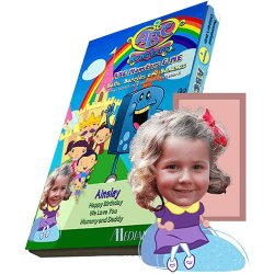 ABC Monsters Series - Two Episodes Photo Personalized Kid's DVD