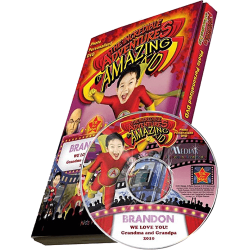 Amazing Kid Personalized Kid's Photo DVD