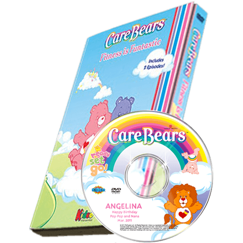 Care Bears Fitness Is Funtastic Photo Personalized Children's DVD
