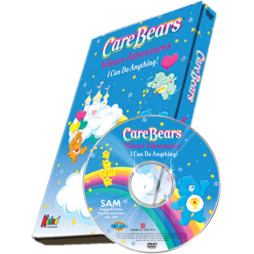 Care Bears Winter Adventures Photo Personalized Children's DVD