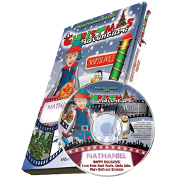 My Christmas Adventure Personalized Kid's Photo DVD