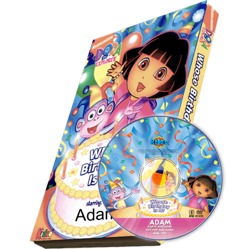 Dora the Explorer Kid's Photo Personalized DVD
