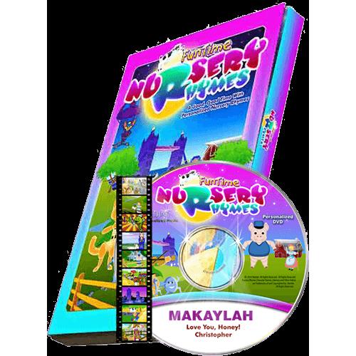 Fun Time Nursery Rhymes Personalized DVD