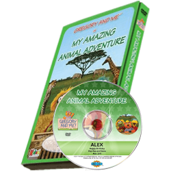 Gregory and Me - My Amazing Animal Adventure Personalized Photo DVD